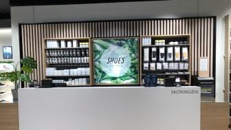 Skoringens signatur butikk i Kongens gata 24 vKarl Johans