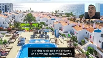 ECC client testimony from Chris Wood.  Diamond Resorts claimant