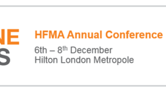 Finegreen exhibiting at the HFMA Annual Conference in London this week!