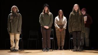 """Kulturskolans musikteater """"Ren Aska"""" - en resa genom två världar"""