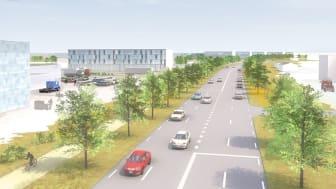 Forsen sköter byggledningen av Östra Fyrislund i Uppsala