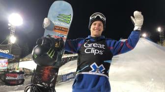 Han gör det igen. För andra året i rad vinner Sven Thorgren X-Games brons i Aspen, Colorado. Bild: Joakim Hammar, (Fri att använda för redaktionellt bruk)
