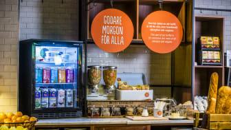 Risenta del av nytt unikt frukostkoncept med Scandic Sverige