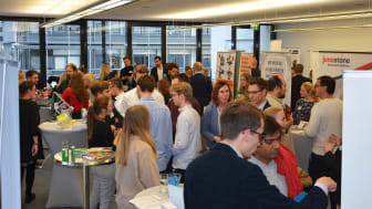 HdWM Recruiting Tag: Großes Interesse bei Studierenden und Partnerunternehmen. Foto: Ekkard Miedke.
