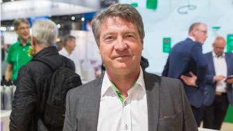 Gunnar Åberg, produktdirektör på Regin