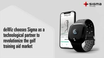 deWiz Chooses Sigma as a Technological Partner to Revolutionize The Golf Training Aid Market