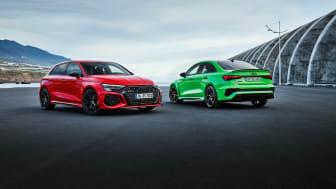 Maximerad körglädje i Nya Audi RS 3