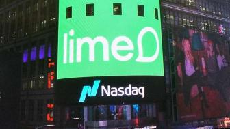 Lime Technologies AB listed on Nasdaq Stockholm