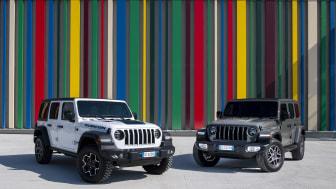 Jeep Wrangler 4xe Rubicon og Sahara