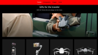 Choosing Gifts For Your Loved One Has Never Been Easier With The First-Ever DJI Holiday Gift Guide Minisite