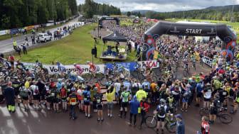 Sveriges Television sänder från CykelVasan 2014
