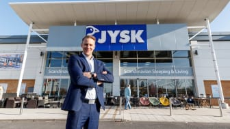 Country Manager for JYSK UK & Ireland, Roni Tuominen.