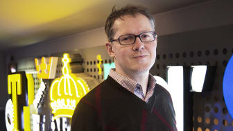 Fredrik Billmark, Focus Neon AB. Foto: Sanna Nilsson
