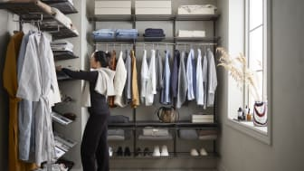 Maximize the storage space with smart and flexible storage solutions