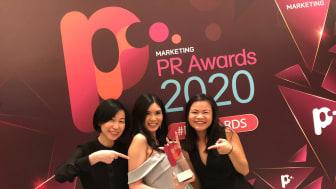 Team APRW wins in the PR Awards 2020