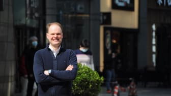 Andreas Thorud (bildet) blir Sjømatrådets nye utsending i Kina. Direktør for Globale operasjoner, Børge Grønbech, mener Thorud blir en viktig brikke i et spennende sjømatmarked. Foto: Privat