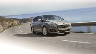 Nye S-MAX - nå også med iAWD til stor glede for norske bilkjøpere.