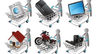 Wer energiesparend einkaufen will, braucht Entscheidungshilfe. Der Blaue Engel oder das EU-Energielabel weisen die Richtung