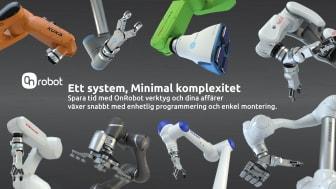 OnRobots singelsystemlösning  tar robotkompatibilitet till nästa nivå