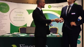 Our magician Ian Knowles showing some tricks to delegates at the HFMA FT Conference