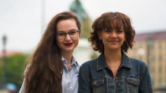 Lilian Helgason och Alva Unsgaard är initiativtagare även till årets konferens om ungas psykiska hälsa.  Bild: Karl Johan Sundkvist Nilunger