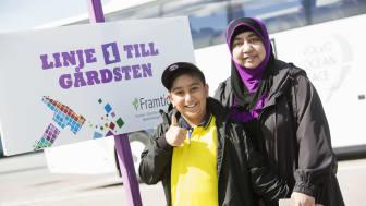Även i år erbjuder Poseidon med systerbolag gratis bussresor till Kulturkalaset. Ett koncept som uppskattats av flera hyresgäster tidigare år.