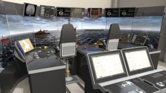 K-Sim DP Manoeuvring Trainer – aft deck configuration