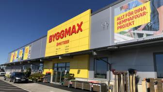 Byggmax driver 170 anläggningar i Sverige, Norge och Finland