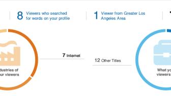 Wer hat sich Ihr Profil angesehen: Statistiken
