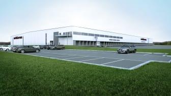 Martin & Servera bygger nytt storlager i Enköping