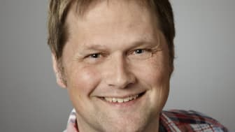 Robert Grahn, doktorand vid Institutionen för socialt arbete, Umeå universitet. Foto:  Lena Lee,  Ateljé Sandro.