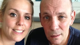 Jess follows in father's footsteps to raise funds for the Stroke Association