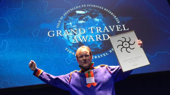 Lennart Pittja, Sapmi Nature, vinnare av 2019 års Grand Travel Award Ekoturismpris.