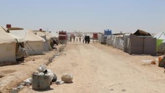 Lägret Al Hol i nordöstra Syrien