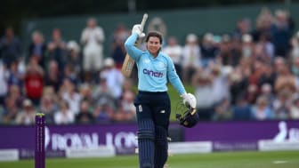 Beaumont scored her eighth ODI ton. Photo: Getty Images
