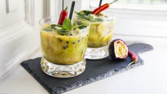 Sommerens mocktail med Aloe vera - SPICY GOJITO