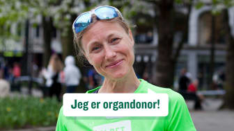 Katrine Rolid (44) har delt med sine nærmeste at hun sier ja til organdonasjon. Foto: Cathrine Kildal /Stiftelsen Organdonasjon
