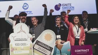 Förra årets vinnare av Innovationsracet.