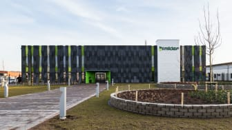 Miljöfokus i guldklass när vi byggde nytt tillMilDefi Helsingborg