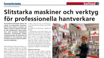Flex Scandinavia som leverantör