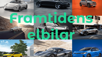 En titt på framtidens elbilar