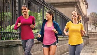 Andelen kvinnor som använder smart teknik för att maxa träningen och välmående ökar.