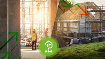Baugenehmigungen steigen auch im Corona-Jahr 2020, allerdings werden immer weniger Einfamilienhäuser genehmigt.