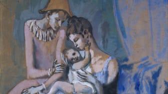 ©Akrobatfamilj, 1905, Pablo Picasso / Bildupphovsrätt 2019. Foto: Göteborgs konstmuseum