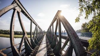 Brücke Eisenbahnmuseum Bochum ©RuhrtalRadweg