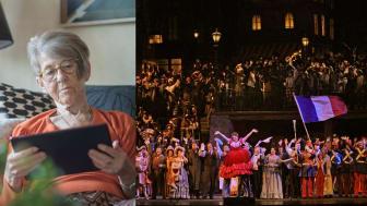 Foto: Anna Tärnhuvud och Ken Howard/The Metropolitan Opera