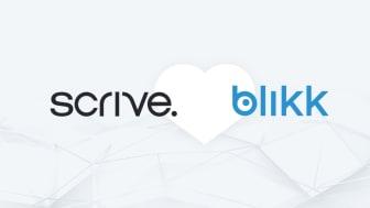 Blikk integrerar Scrive eSign i sitt affärssystem