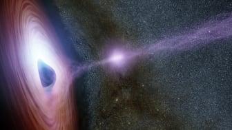 Forskarlunch om universums gigantiska kraftfulla mekanismer