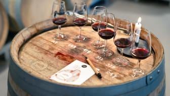 På The Winery Hotel i Stockholm bjuds nu gäster in på en provning av vin direkt från ekfaten i vineriet, varje fredag och lördag hela sommaren.
