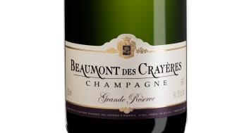 Säljstartsuccé för Beaumont des Crayéres Grand Reserve Brut NV- den mest sålda champagnen på Systembolaget i oktober 2012 oavsett priskategori
